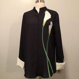 Victoria Beckham Calla Lily Shirt